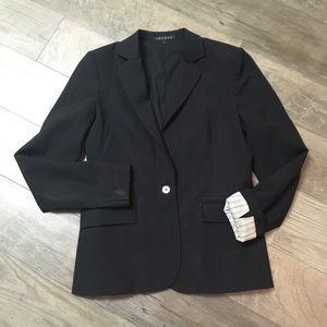 Theory Wool Blend Black Blazer Size 4